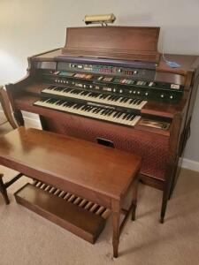 Hammond organ and piano combo - touch tempo