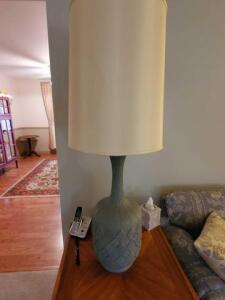 "2 - table lamps - 46"" h"