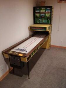 Vintage Bowling arcade game - couldnt get to turn on