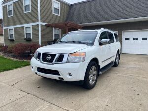 2012 Nissan Armada - Platinum Edition - 4 wheel drive - Fully Loaded - 145,000 miles - hitch - Inspected feb. 21 - Recon. Title *Preview at 7055 Big Beaver Blvd. Beaver Falls Pa 15010