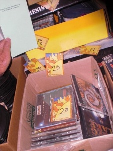 3 boxes of CD's (mostly classic rock)