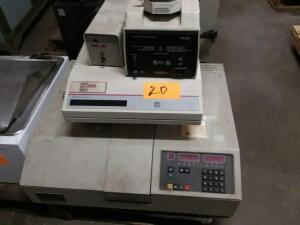 Perkins Elmer Lambda 3B UV/VIS Spectrophotometer, SDI M500 Analyzer