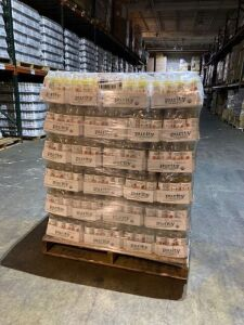 1 pallet of Purity Organic Orange Mango Paradise - 108 cases - 1296 bottles - Retails $3888