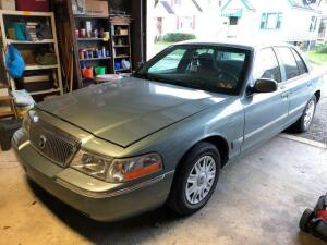 2005 Mercury Grand Marquis gs - 42,623 miles - power windows/locks - V8 - VIN: 2mefm74w65x65x610871 - good tires - needs new battery - Ford recall for headlights Recall # 15s39