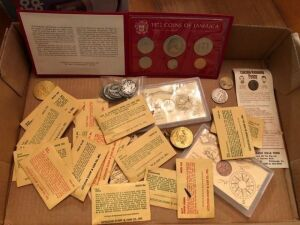 Coin lot - US and foreign coins