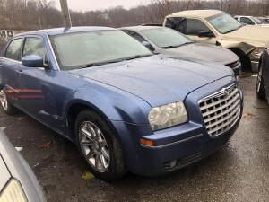 BLUE, 2007, CHRYSLER/300, 2C3KA53G07H711042