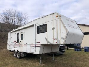 1998 JAYCO EAGLE 5TH WHEEL CAMPER - VIN: 1ujcj02p3w5lv0254