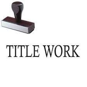 Notary will be onsite day of removal to sign titles over to buyers - plates are not available