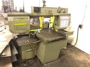 Hydmech S-20 series II metal band saw - 208V - 2hp - buyer will need to bring something to load