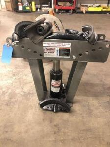 Central machinery 16 ton hydraulic pipe bender - like new