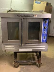"Bakers Pride Convection Oven - New Motor needs installed - 39""W x 39""D x 32""H"