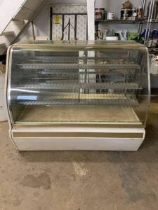 "Bakery Display Case - 58"" W x 38"" D x 48"" H"