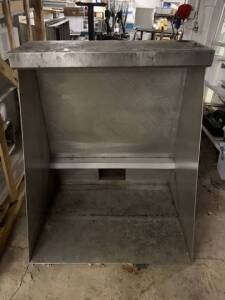 "Small Exhaust Hood - 44"" W x 52"" D x 34"" H"