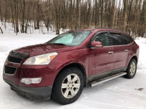 2011 Chevy Traverse LT - AWD - 89,787 miles - OnStar - XM radio - leather - power windows/locks - 3rd row seating - power rear door - reverse camera - 3.6 VVT engine - VIN: 1gnkvjedxbj113177 - has owner manual
