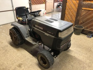 Craftsman GT 22HP riding tractor - kohler command - mower deck with it