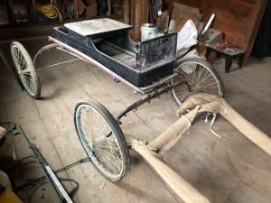 Horse buggy - approx. 13ft - single rider