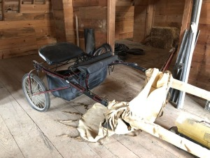 Horse buggy - approx. 10ft - with extra wheels