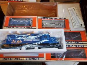 Lionel Conrail freight train set - sd-40 diesel locomotive - NIB - 6 freight cars - 1987