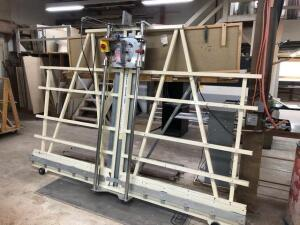 Safety speed cut vertical panel saw - 10ft long