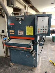 JET wide belt sander - model JWB-25P - 3ph 220/440 volt - If buyer needs additional time for load out it can be arranged