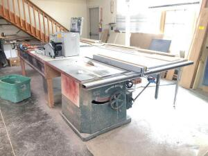 Northfield Foundry & Machine Co. Table Saw - No. 4 - 78in x 12ft table