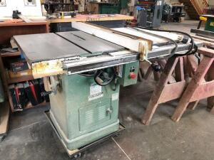 General table saw - model 350 - 3hp - 3ph - SN: 6164