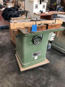 Grizzly router table - 30x28 table - single phase motor