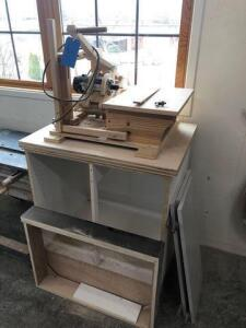 Homemade side router table - model 8902 router