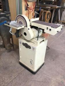Shop Fox Disc and Belt Sander - single phase - 1hp