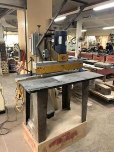 Ritter MFG Line Boring Machine - 3hp 3 phase motor