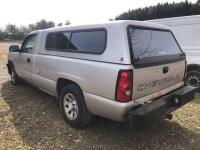 2006 Chevy Silverado 1500 - *RUNS - has NEW BATTERY* - 173,000 miles - 8ft bed with Leer cap - tekonsha trailer brake control- VIN: 3GCEC14X26G260558 - *has title* - 3