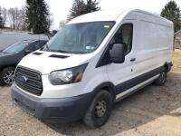 2015 Ford Transit 250 - *RUNS - has NEW BATTERY* - 3.7L engine - 102,917 miles - weather guard shelving and divider with door - Kobalt tool chest - VIN: 1FTNR2CM3FKA27101 - *has title*