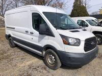2015 Ford Transit 250 - *RUNS - has NEW BATTERY* - 3.7L engine - 102,917 miles - weather guard shelving and divider with door - Kobalt tool chest - VIN: 1FTNR2CM3FKA27101 - *has title* - 2