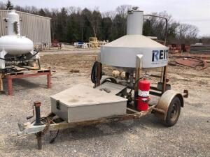 200 Gallon SS Prover for calibrating gas/diesel meters - on trailer - with 1 1/2in return hose - plug in 110V - *trailer has title*