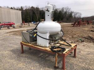 100 Gallon Prover for calibrating propane meters - explosion proof motor - plug into 110V - on skid