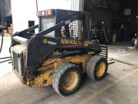 New Holland LS160 Skid Loader - 2650 hours - bucket and forks - reserved for load out - 3