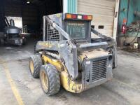 New Holland LS160 Skid Loader - 2650 hours - bucket and forks - reserved for load out - 4