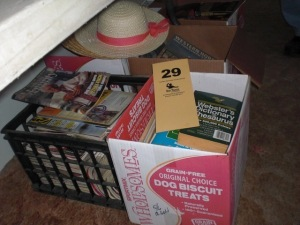 (6) Boxes of books, reference material