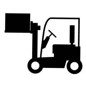 Forklift will be available to assist buyers load smaller items.