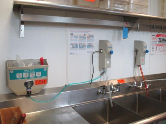 Ecolab Flex Pak Pot Amp Pan Detergent Amp Sanitizer Dispenser
