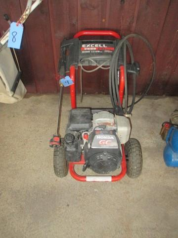 Excell Power Washer 2600 Tyres2c