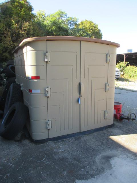 Lot 134 Of 262 Thinking Outside Storage Shed 10 X6