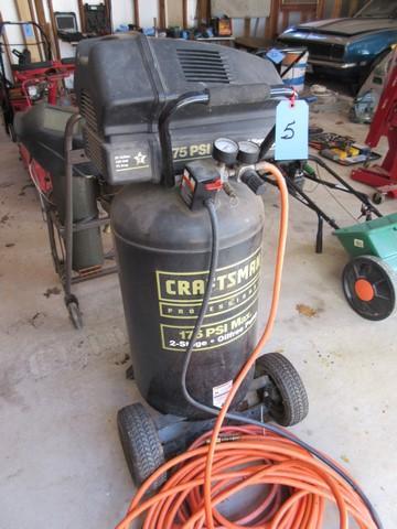 Craftsman Professional Air Compressor Model 919 167780 25 Gallon 3 5 Hp 175 Psi