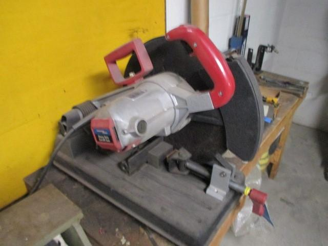 Lot 43 Of 110 Chicago Electric Heavy Duty Cut Off Saw W Manual