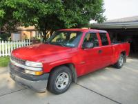 2000 Chevy Silverado 1500 Extended cab pick up truck - 6' bed, VIN: 2GCEC19W6Y1293283 - 173,053 miles - Needs brake lines