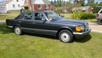 1989 Mercedes Benz, sedan, 300SE, W-126, 173,000 miles, Includes (2) new fenders, new Jvc radio *RUNS AND DRIVES*