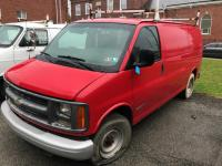 2001 Chevy Express 3500 - VIN: 1GCHG35R611141058 - 50,000 miles - 12' stake bed - *Needs Key*
