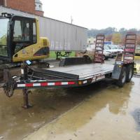 2006 Tow Master Trailer - VIN: 4KNUC14296L161620 - 15'L - newer tires