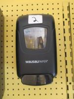 Wausau Paper standing hand sanitizer dispenser