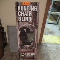 Buffalo outdoors hunting chair blind - new in box - with flag